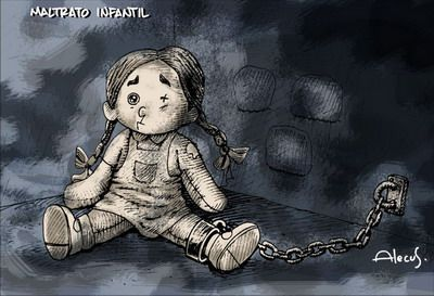Respetemos la integridad de los niños, niñas y adolescentes. No al maltrato infantil.