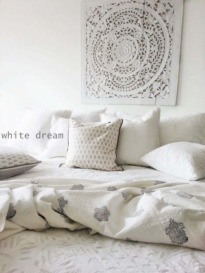 Lydia mccauley quieting india style for the white home for Ethnic bedroom ideas