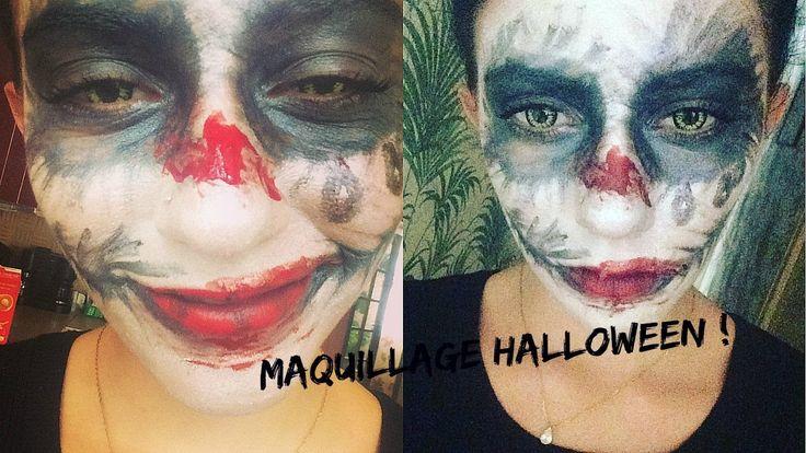 1000 id es sur le th me maquillage halloween sur pinterest halloween tutoriels de maquillage - Maquillage halloween araignee ...