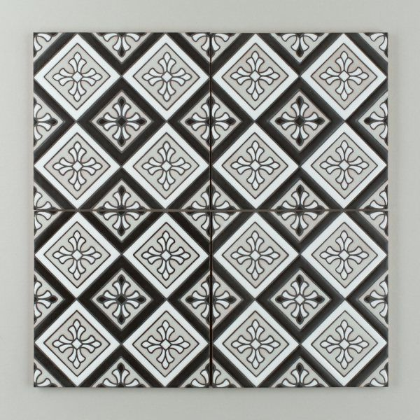 tile collection fireclay handpainted collection tile concepts ...
