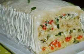 Resultado de imagem para torta de pão de forma