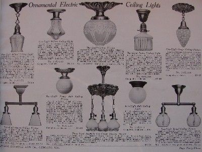 Lighting American Foursquares: 1910-1915 | Brass Light Gallery's Blog