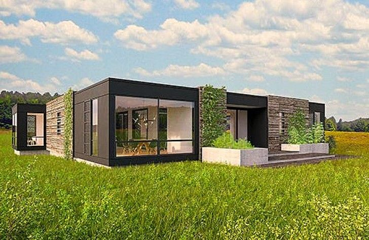 50 best modulhaus images on pinterest modern houses for Prefab tropical homes