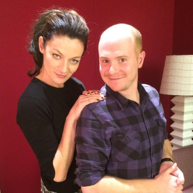 Permission to SQUEEEEE! Look who I just got to interview! #missy #doctorwho