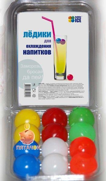 """Многоразовые охладители напитков  """"Бабл Айс"""""""