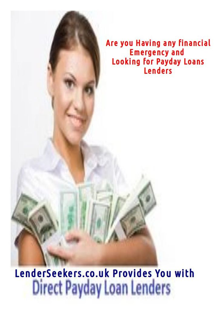 direct payday loan lenders only no credit check - 2