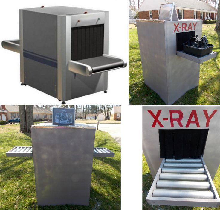 XRay machine for Agency D3 Made by Mike and Kim LeClaire. I'd love to hear back from anyone who uses my designs, thanks!