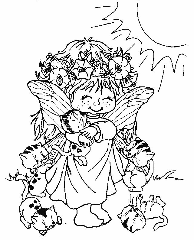 818 best images about clipart on pinterest coloring coloring books and clip art - Coloriage elfes ...