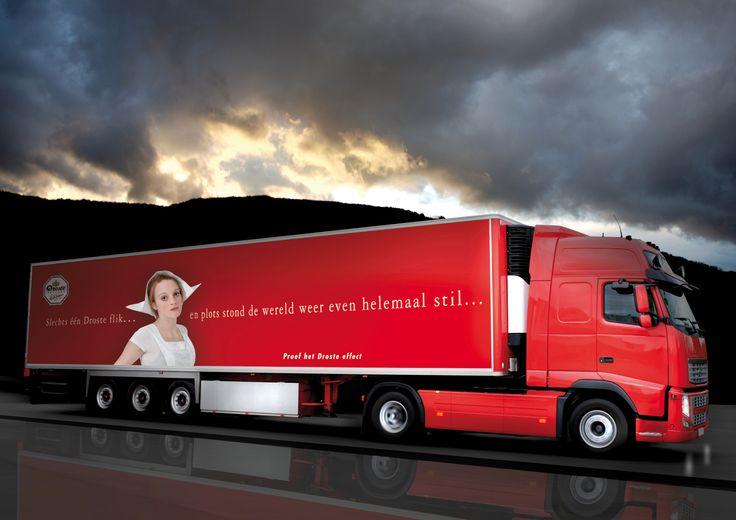 Droste truck by Huub van Osch #vOSCH #huubvanosch #blahblahism #amsterdam #Droste