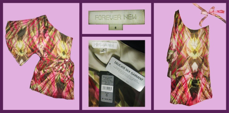 Forever New dress with tags. Size: 6, $40. Visit our Facebook! Chances to win! #shop #designer #apparel #sale #new