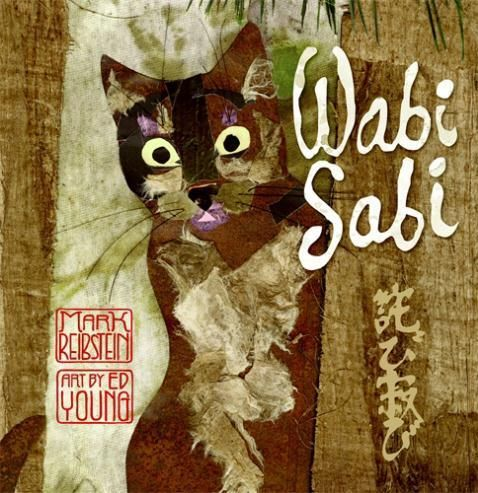 Wabi Sabi - Mark Reibstein - a picture book of poetry. Wabi Sabi, a Kyoto cat, has never thought about the meaning of her name until visitors make the enquiry. This leads Wabi Sabi on a journey of understanding. A delicate treasure of Zen storytelling, beautifully illustrated with collages and peppered with haiku. I borrowed this from the library but love it so much I think I'll buy a copy for myself. 5 stars.