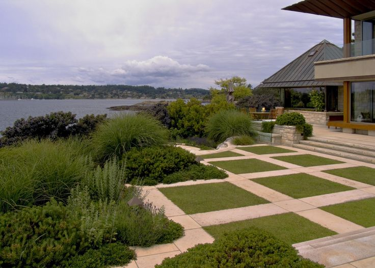 Saanich waterfront garden design pinterest gardens for Waterfront landscape design