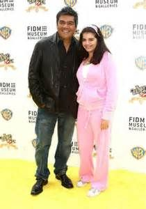 George Lopez and his daughter Mayan