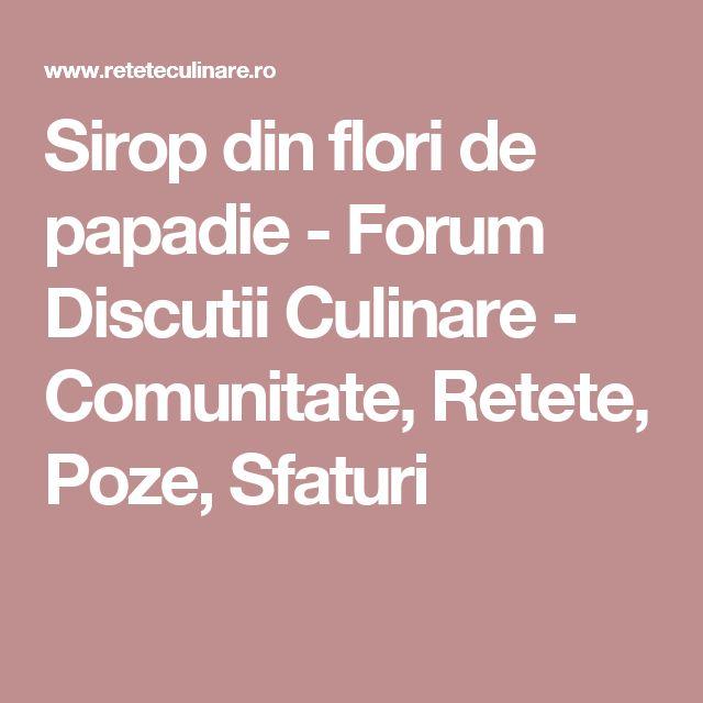 Sirop din flori de papadie - Forum Discutii Culinare - Comunitate, Retete, Poze, Sfaturi
