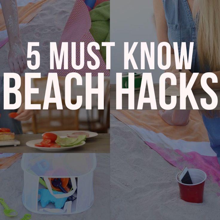 5 Must Know Beach Hacks