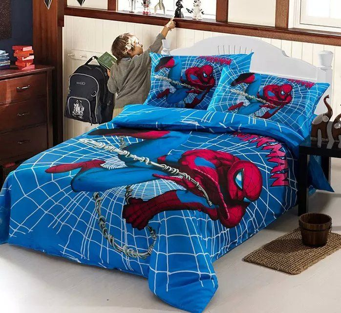 Best 25 Spiderman Bed Set Ideas On Pinterest  Marvel Bedroom Magnificent Spiderman Bedroom Furniture Review