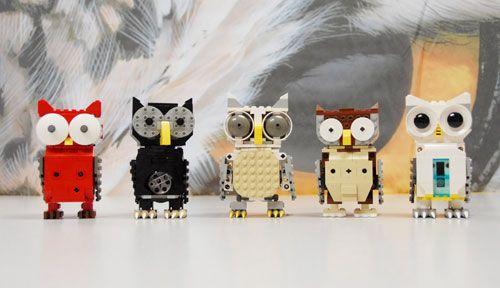 lego owls!