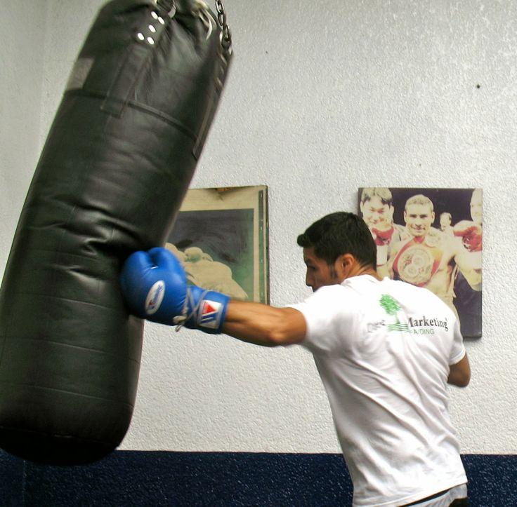 INGENIO MEXICANO: COMO HACER UN SACO PARA BOXEO CASERO