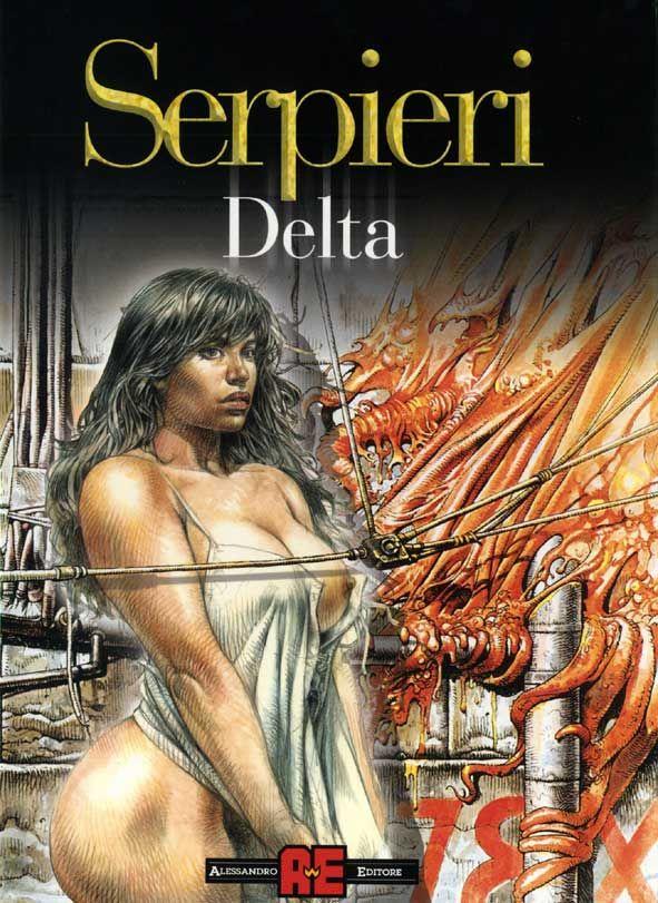 Serpieri, Druuna 2-Morbus Gravis II (Delta). | Paolo ...