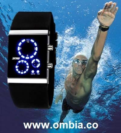 Ahora nada con tu propio estilo con el nuevo reloj led Skmei 0984 perfecto para llevar a cabo tus actividades náuticas.