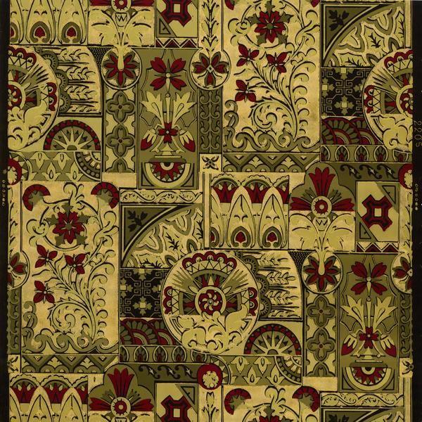 Regal Aesthetic Antique Wallpaper Remnant Antique Wallpaper Original Wallpaper Wallpaper