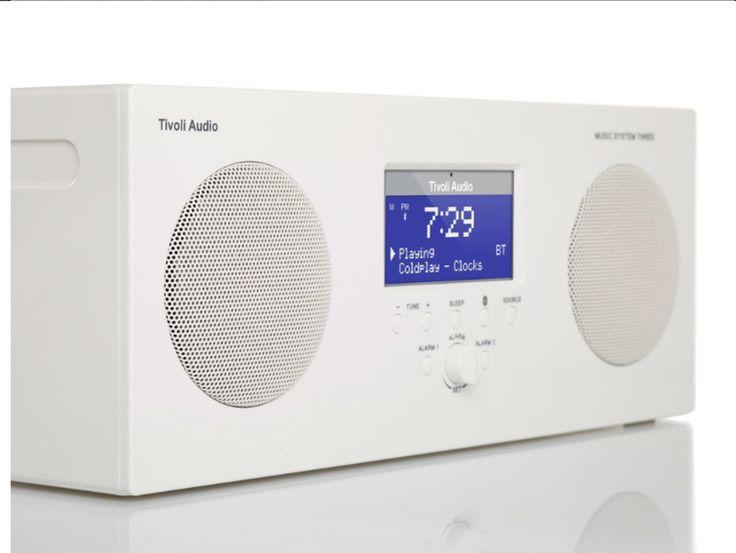 Tivoli Music System Three: la Tivoli Audio prova il suo primo sistema Hi-Fi che sia anche portatile, bluetooth, e DAB+.