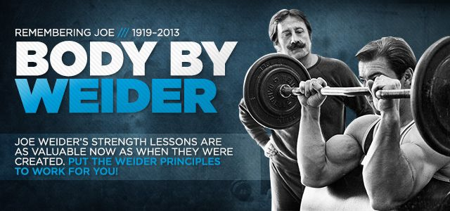 Bodybuilding.com - Remembering Joe Weider: The Science Of The Weider Principles