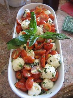 Italian Tapas Party Mini Caprese