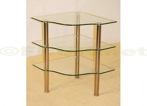 47 best images about corner units on pinterest living - Glass corner shelf for living room ...