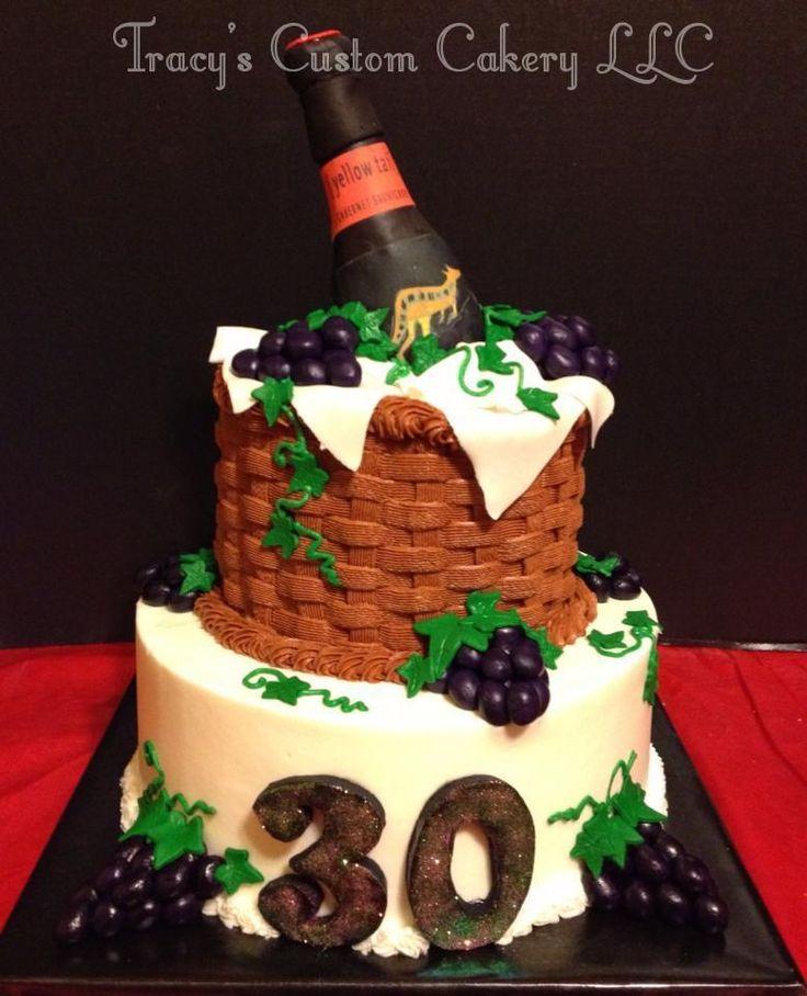 15 best Milestone Birthday Cakes images on Pinterest 30th birthday