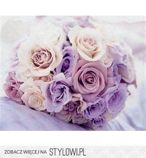 bukiet roza eustoma