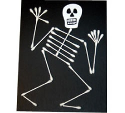 'Dem Bones 'Dem Bones! Create a spooky craft that can also teach about anatomy!