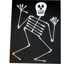 'Dem Bones 'Dem Bones! Create a spooky craft that can also teach about anatomy!