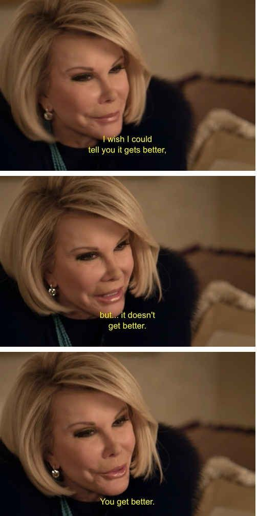 Great thought Joan Rivers