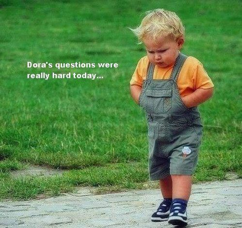 Hhahahha: Dora S Questions, Giggle, Hard Today, Funny Stuff, Humor, Things, Smile