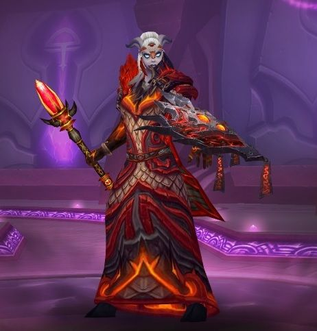 Draenei Elemental Shaman Transmog World of Warcraft