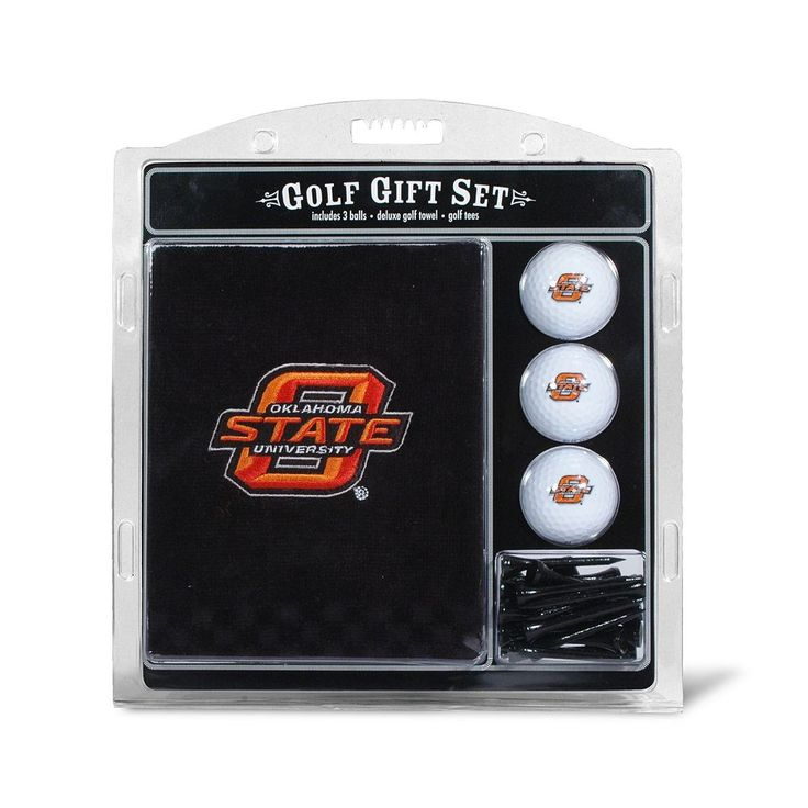 Team Golf Oklahoma State Cowboys Embroidered Towel Gift Set, Multicolor