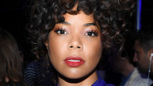 Daily Beauty Buzz Gabrielle Union's Matte Red Lipstick