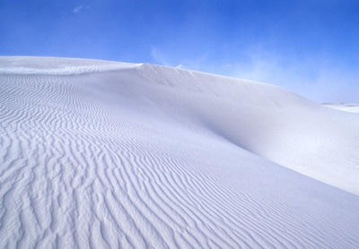 White Sands National Monument. Other-worldly at dusk! Very cool place to visit