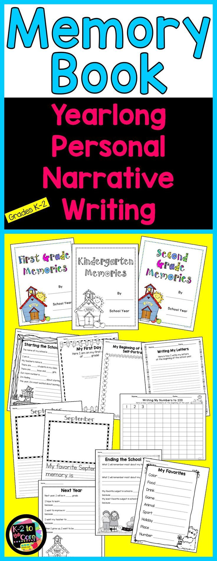 personal narrative writing prompts for kindergarten The early years as these examples show, in the early elementary years it is the child's narrative voice that must find its way into the classroom in order for students to gain confidence and competence in reading and writing.
