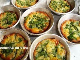 Ingredientes: 2 ovos 2 xícaras (chá) de espinafre cru picadinho(pode usar tambem os talos) 4 colheres (sopa) de farinha de trigo 2 colher...