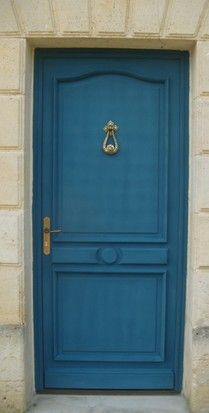 9 best images about porte d 39 entr e on pinterest front door design home - Couleur peinture porte ...