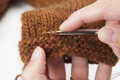 Tuto : Retoucher la longueur d'un tricot, sans détricoter. Blog de L'échappée Laine
