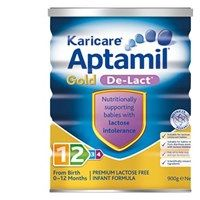 Karicare Gold Stage 1 & 2  Aptamil De Lact (not the S21 gold lactose free, it constipates baby)