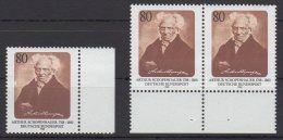 BRD / 200. Geburtstag von Arthur Schopenhauer  / MiNr. 1357  | Zu verkaufen auf Delcampe