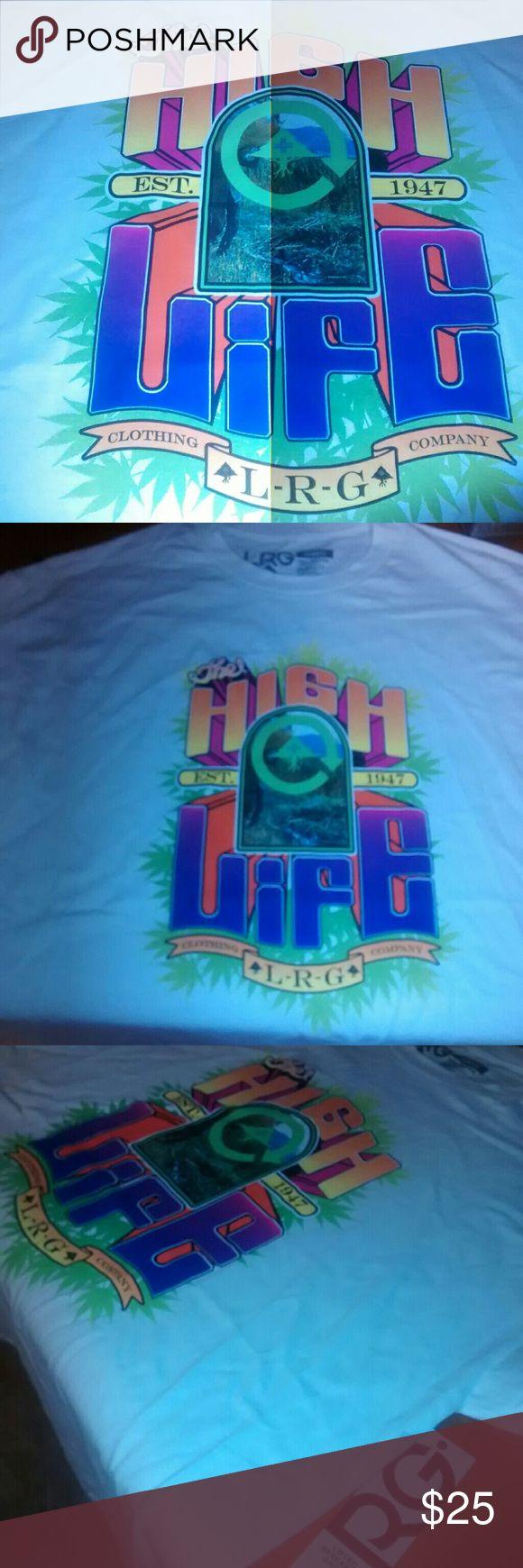LRG T-Shirt High Life  Black light friendly  Brand new Never worn Lrg Shirts