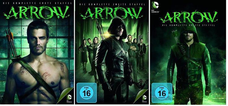 Arrow - Staffel/Season 1+2+3 * DVD Set (DC-Comics)