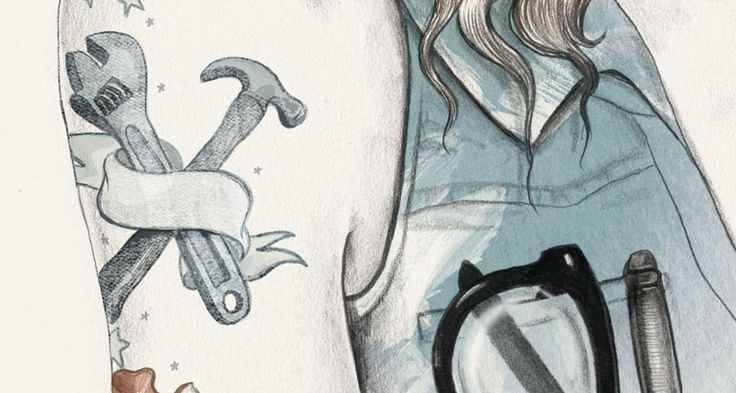 Holte illustration Esra Røise | Breakfast.no