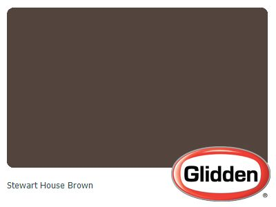Stewart House Brown Paint Color