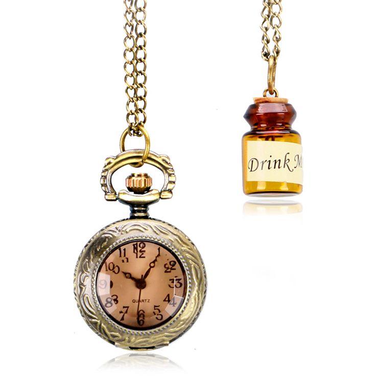 $5.52 (Buy here: https://alitems.com/g/1e8d114494ebda23ff8b16525dc3e8/?i=5&ulp=https%3A%2F%2Fwww.aliexpress.com%2Fitem%2FXmas-Gift-Bronze-Dark-Brown-Glass-Necklace-Transparent-Pocket-Watch-Drink-Me-Bottle-Pendant-Copper-For%2F32707120545.html ) Xmas Gift Bronze Dark Brown Glass Necklace Transparent Pocket Watch Drink Me Bottle Pendant Copper For Women Girls Dids for just $5.52